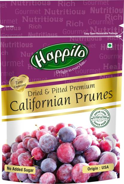Happilo Dried and Pitted Premium Californian Prunes