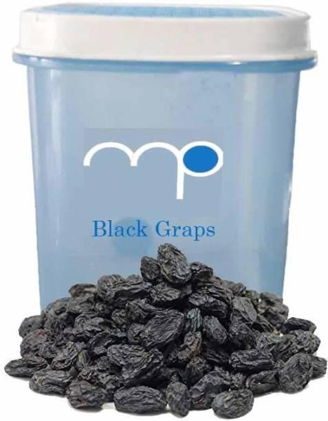 Maalpani Premium Dried Black Raisins / Kala Kishmish in Attractive Air Tight Container 200g Dry Fruit Hamper  Gift Hamper Box Pack Raisins