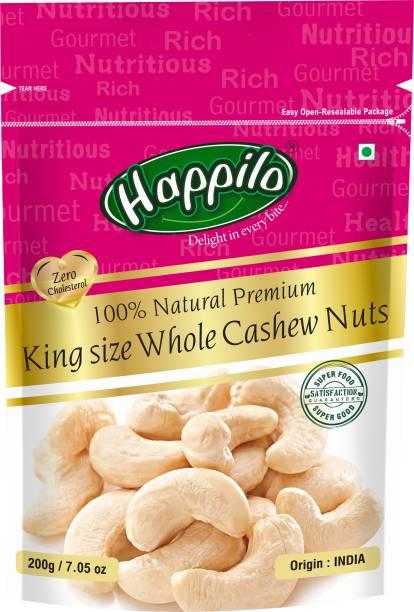 Happilo 100% Natural Premium King Size Whole Cashews