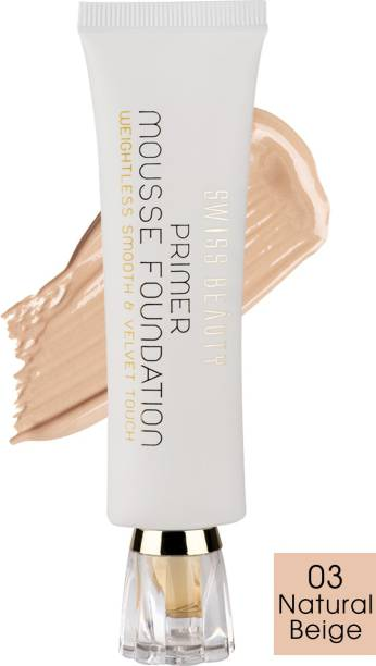 SWISS BEAUTY Primer Mousse Foundation Primer  - 40 ml