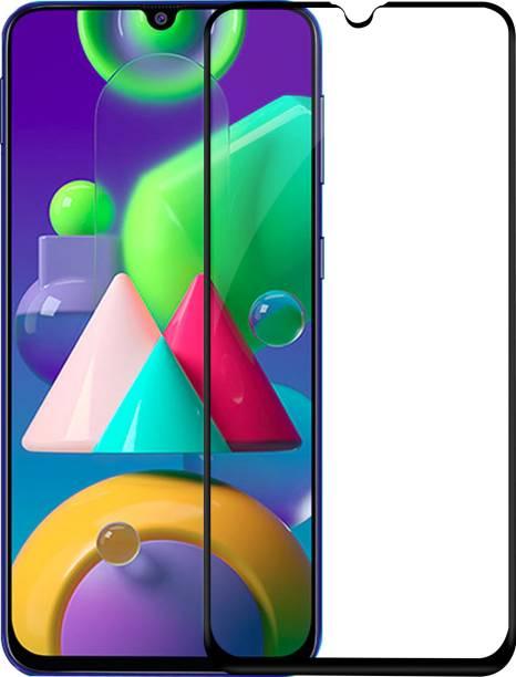Hupshy Edge To Edge Tempered Glass for Samsung Galaxy M30S, Samsung Galaxy M21