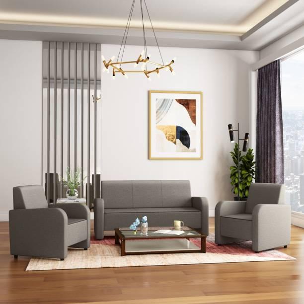 KURLON Apache Fabric 3 + 1 + 1 Sofa Set