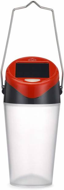 D LIGHT S30 Family Solar Lantern with 0.3W in-built solar panel, transparent textured making it safe for eyes Solar Light Set