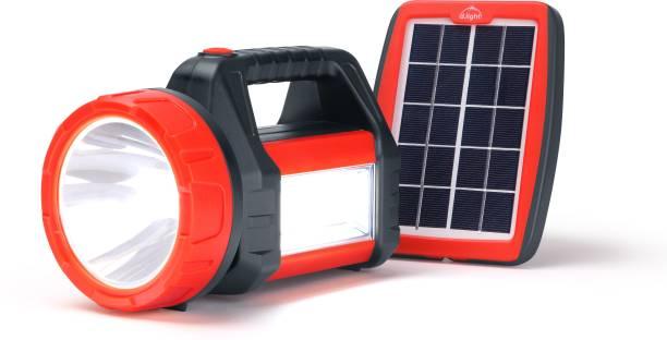 d.light ST100 - Solar Kisan Torch   Long range handheld powerful solar LED torch light for your Emergency kit Solar Light Set