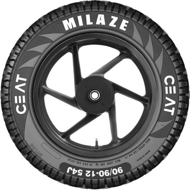 CEAT 106061 Milaze TL 54J SW 90/90-12 Front & Rear Tyre