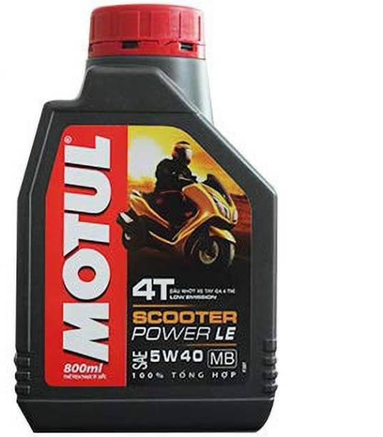 MOTUL SCOOTER LE 5W40 FULLY SYNTHETIC OIL FOR SCOOTERS 0.8L SCOOTER LE 5W40 FULLY SYNTHETIC Synthetic Blend Engine Oil