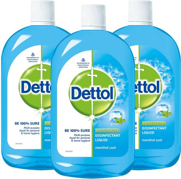 DETTOL Disinfectant Multi-Use Hygiene Liquid, Menthol Cool - 500 ml Antiseptic Liquid
