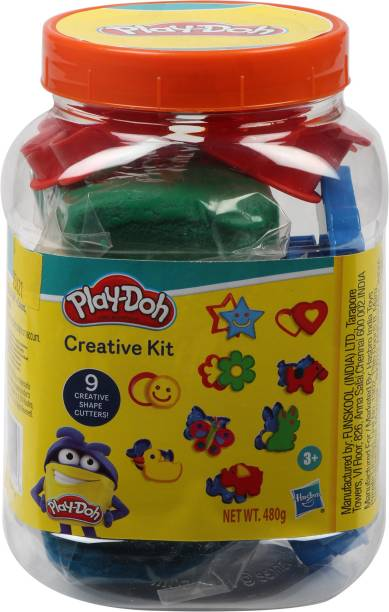 PLAY-DOH Creative Kit in a Jar for ages 3 years and up