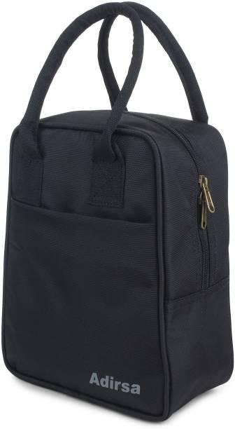 ADIRSA LB3001 Black Waterproof Lunch Bag
