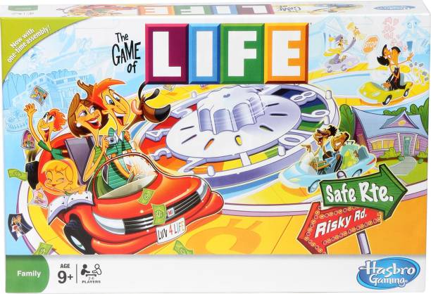 HASBRO GAMING The Game of Life game Strategy & War Games Board Game