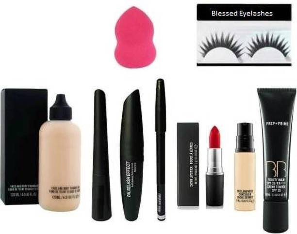 Blessed Cosmetic Combo Kit Of 9 Pieces