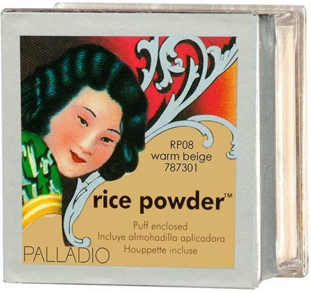 Palladio Beauty RICE POWDER WARM BEIGE Compact