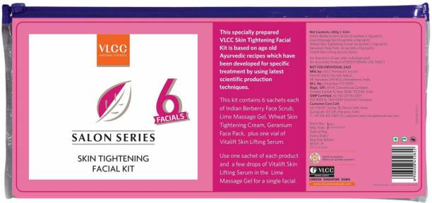 VLCC 5 Steps Skin Tightening Facial Kit