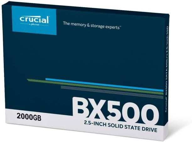Crucial CT 2000 GB Laptop Internal Solid State Drive (BX500)
