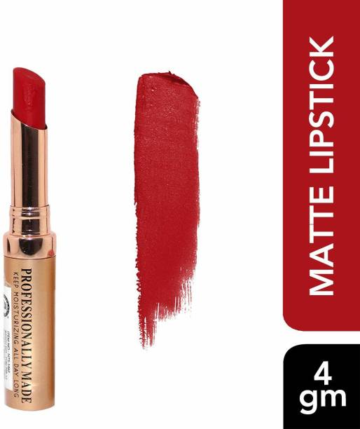 colors queen Matte Me Ultra Smooth Lipstick (Rich Red)