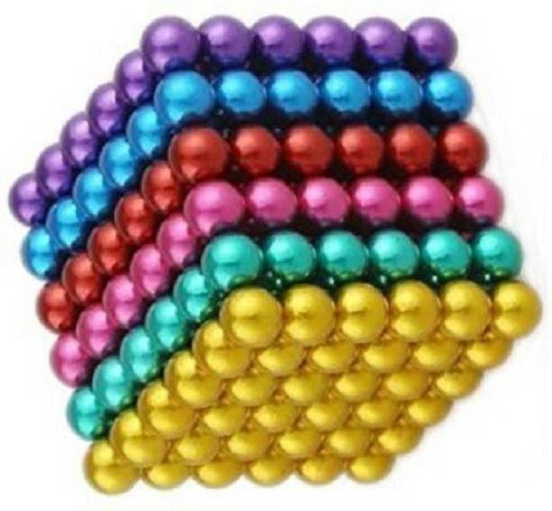 HUBSTAR Multicolor Magnetic Ball for Stress Relief Cube Toy A65 Multipurpose Office Magnets Pack of 1