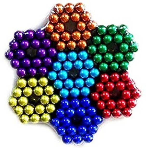 HUBSTAR Multicolor Magnetic Ball for Stress Relief Cube Toy A24 PLEASING Multipurpose Office Magnets Pack of 1