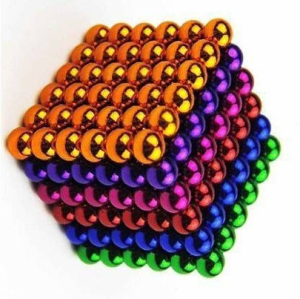 HUBSTAR Multicolor Magnetic Ball for Stress Relief Cube Toy A42 PRECIOUS Multipurpose Office Magnets Pack of 1