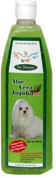 awf Anti-fungal, Anti-dandruff, Conditioning aloevera Dog Shampoo