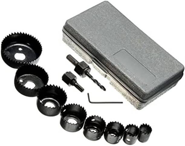 tool trust 11 pc wood hole saw cutting set kit Rotary Bit Set