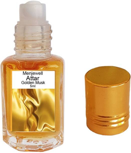 Menjewell fragrances Golden Musk (Natural Itra/Attar/ Perfume) Floral Attar