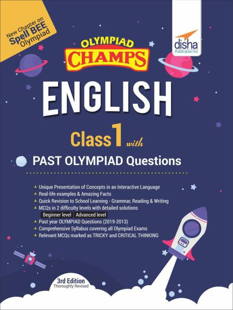 Olympiad Champs English Class 1 with Past Olympiad Questions