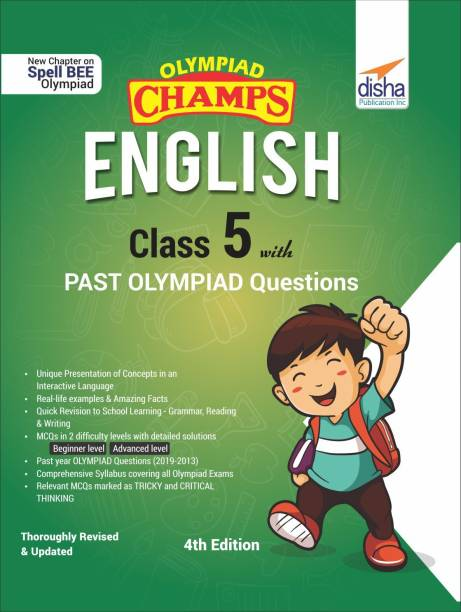 Olympiad Champs English Class 5 with Past Olympiad Questions