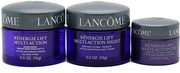 LANCOME Eye and Face Cream Set Includes Eye Cream