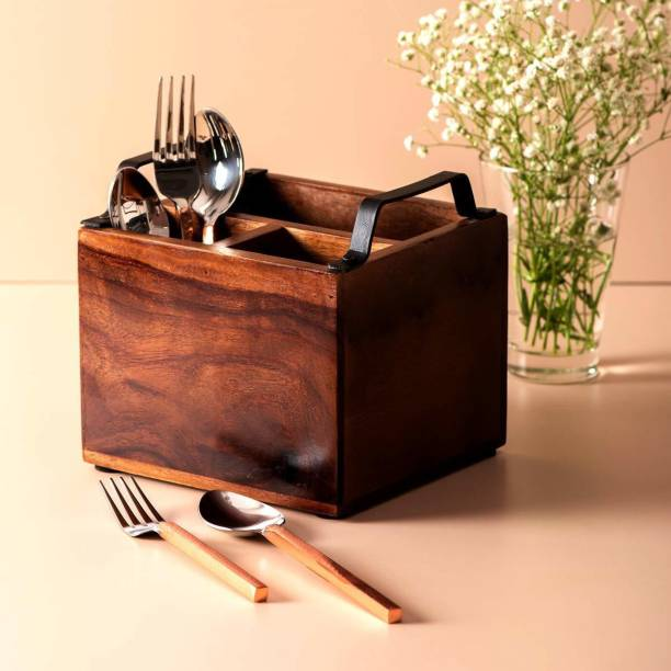 nestroots Empty Cutlery Holder Case
