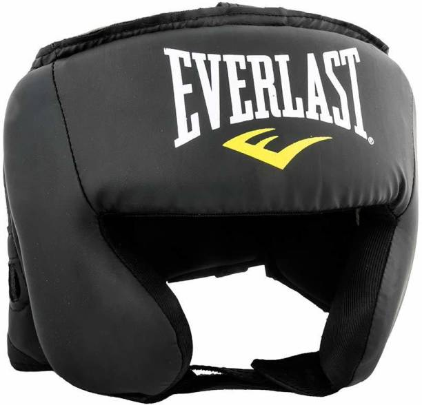 IRIS Everfresh Headguard for Boxing Training - Matte Black Padded Head Guard Boxing Head Guard