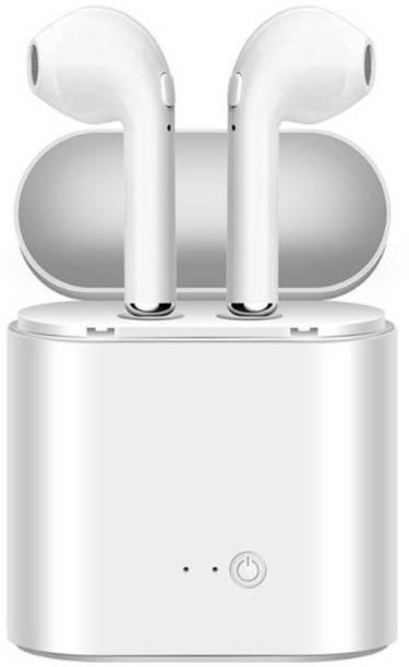 Tezar Twins Wireless Bluetooth Headphone earphones with mic Bluetooth Headset