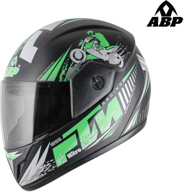 ABP Nitro Racing Motorcycle (Matte) Motorbike Helmet