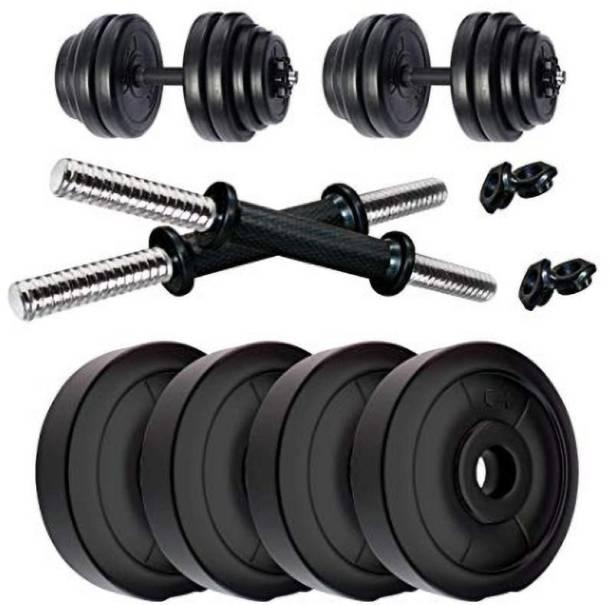 RV 8 kg PVC DUMBBELL Gym & Fitness Kit