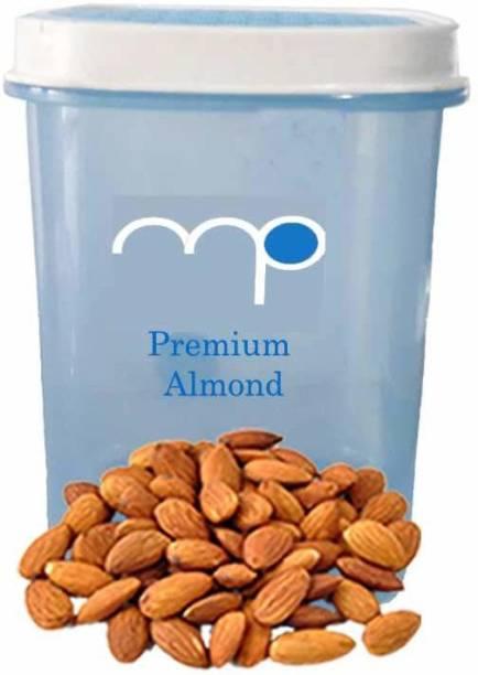 Maalpani Premium Almonds / Badaam in Attractive Air Tight Container 200g Dry Fruit Hamper  Gift Hamper Box Pack Almonds
