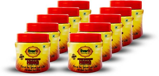Everin Compounded Asafoetida Hing Powder Pack of 10 10gm each