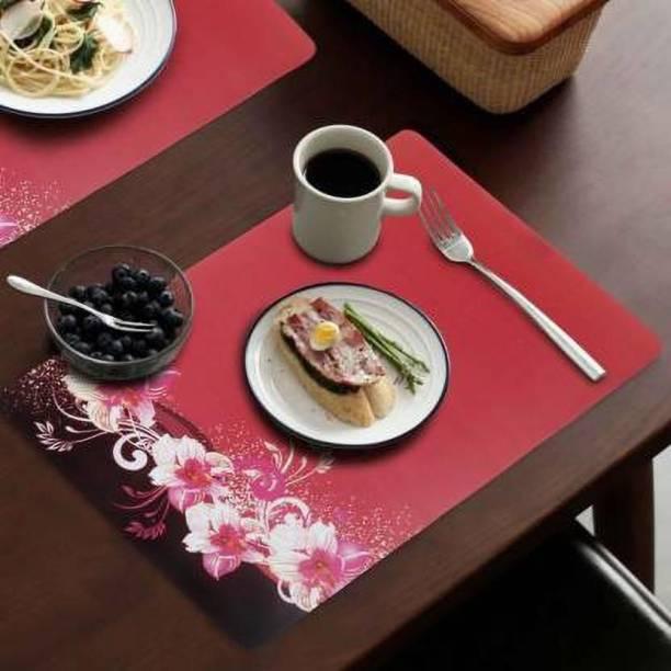 manvi Rectangular Pack of 6 Table Placemat