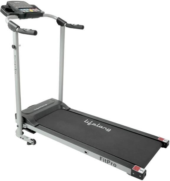Lifelong LLTM81 Fit Pro 2.0 HP, with Heart Rate Sensor Foldable Motorised Treadmill