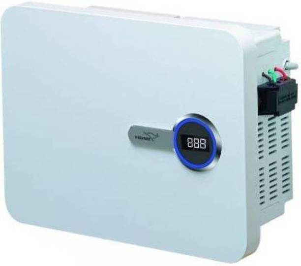 V-Guard New VWR 400 Plus Digital Display For Inverter AC upto 1.5Ton (130V-300V) Voltage Stabilizer