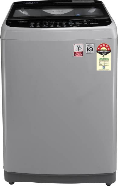LG 9 kg 5 Star Rating Fully Automatic Top Load Silver