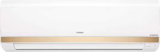 Hitachi 1.5 Ton 5 Star Split Inverter Expandable AC  - White, Gold