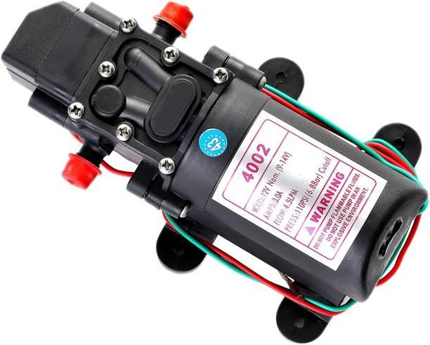 BALRAMA 4.5 LPM 12 Volt DC Motor + Automatic Pressure Control Switch High-pressure Booster Pressure Washer