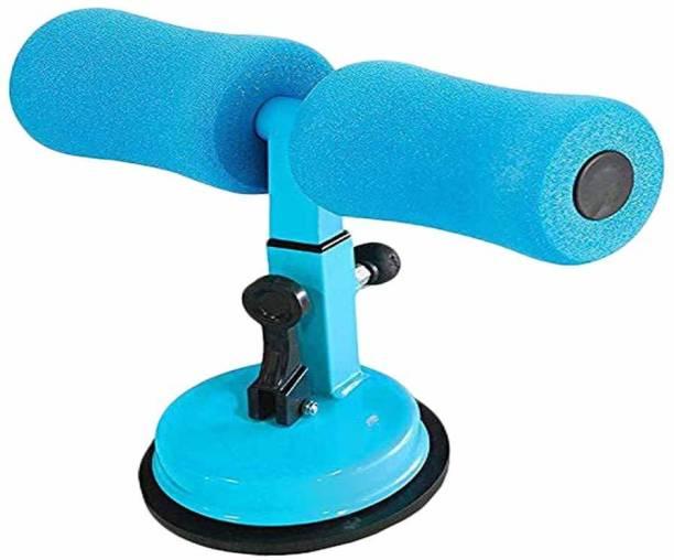 Vruta Portable Self-Suction Situp Bar Adjustable Sit Up Equipment Helper bar(Blue) Sit-up Bar
