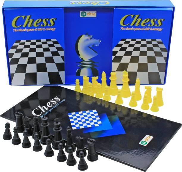 Ekta Chess Jr. Board Game Family Game Board Game Strategy & War Games Board Game