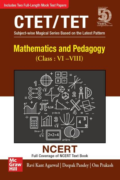 Mathematics and Pedagogy For CTET/TET | For Class : VI-VIII | Full Coverage of NCERT Textbook | CTET Paper 2
