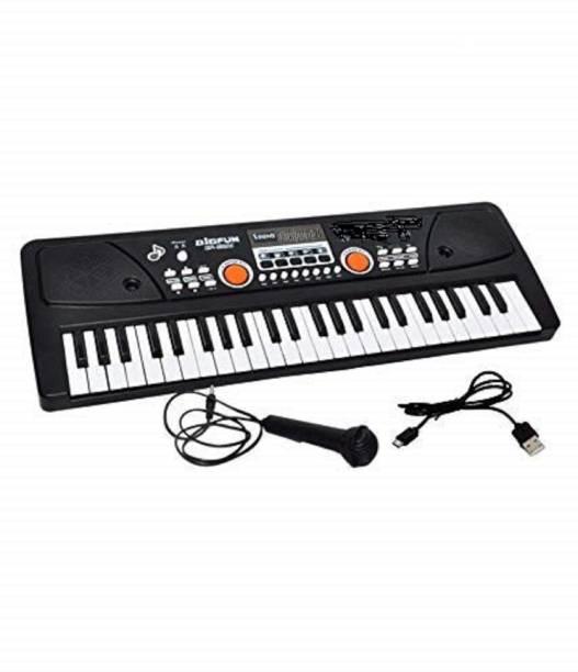 BabyBaba 61 Keys Electronic LED Display Piano Keyboard with LED Display