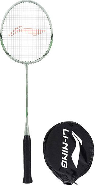 LI-NING XP-80-IV Green, Silver Strung Badminton Racquet