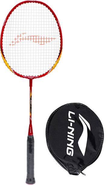 Li-Ning XP 900 JR - PV Sindhu Signature Series Red Black Yellow Badminton Racquet G4 - 8.25 cm (pack of 1,86 gm)