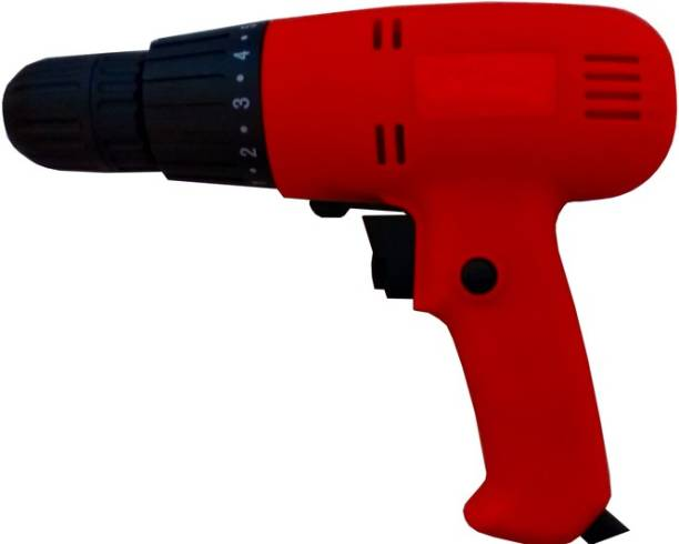 Rising Electronics Heavy Duty (230V-50Hz) (350 watt) (0-750RPM) (10MM Chuck Size) Electric Screwdriver with Left and Right Rotation Mode Variable Speed on Wood, Wal,l Metal Professional Heavy Duty High Quality Electric Screw Driver Collated Screw Gun