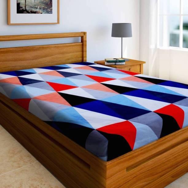 Home Elite 144 TC Microfiber Single Printed Bedsheet
