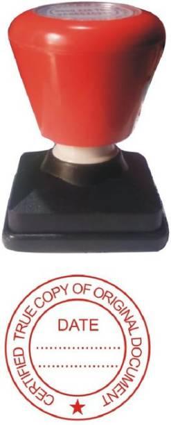 SSS IMPRESSIONS Certified True Copy stamp- 2 Pre Inked Stamp